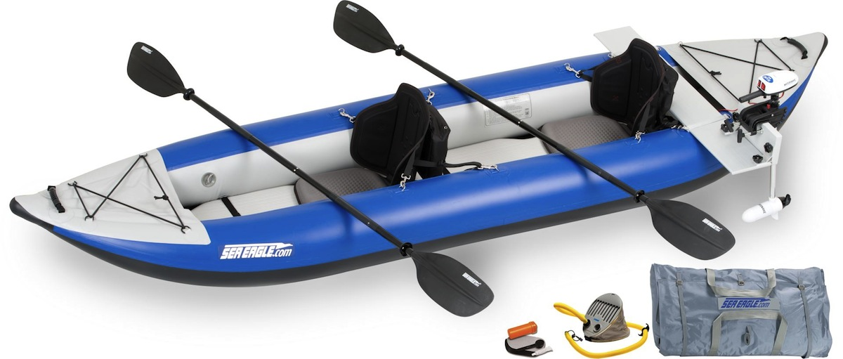 Details about Sea Eagle 380x Explorer Pro Motor Package Inflatable Portable  Kayak - Make Offer