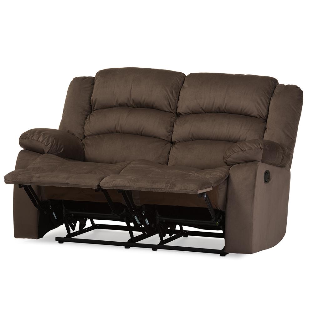 Microsuede Set 3 Seat Reclining Sofa 2 Seat Loveseat 1