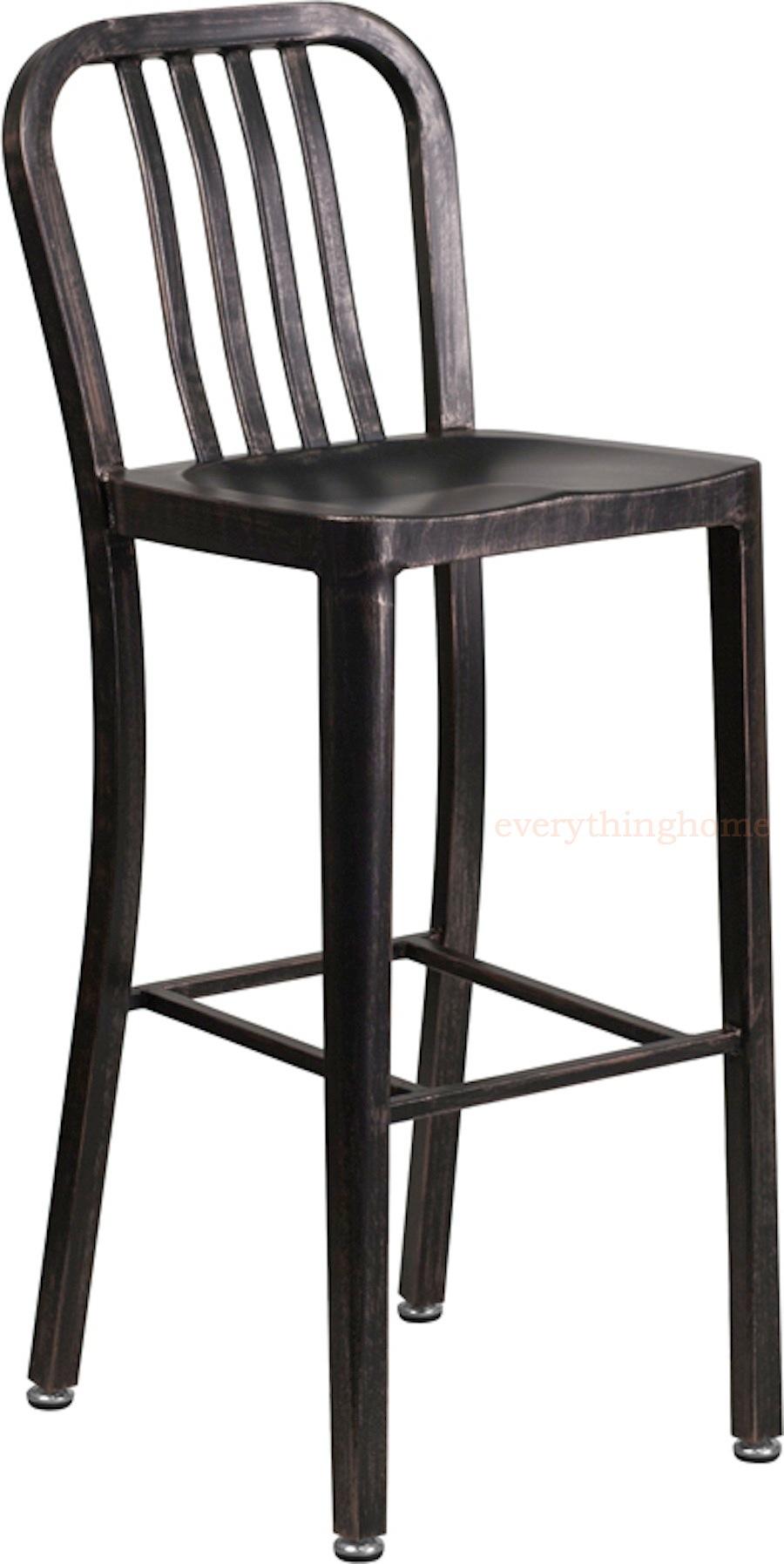 Bar Stool High Top Cafe Patio Chair
