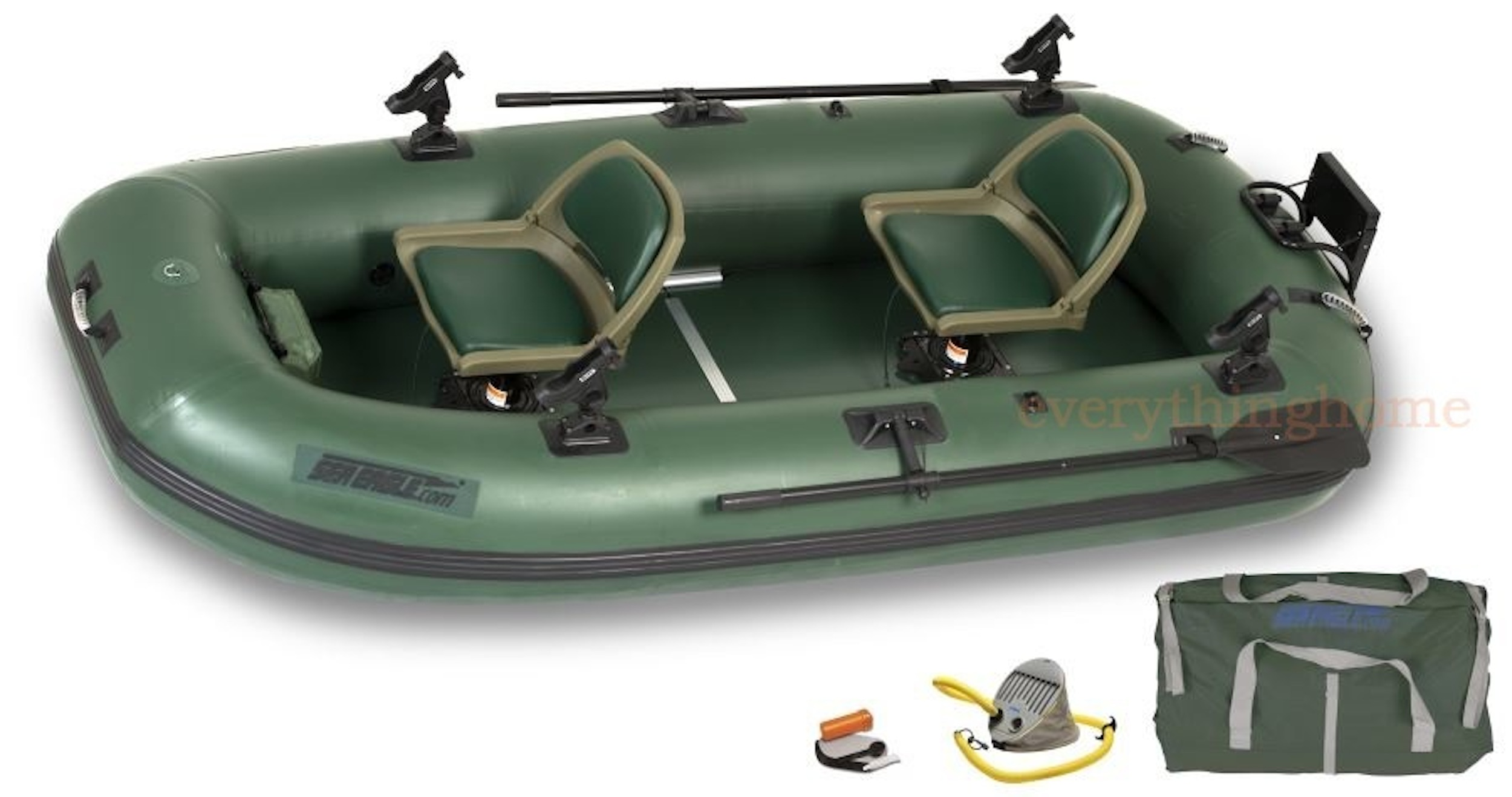 Sea eagle sts10 stealth stalker inflatable fishing boat for Small boat motor repair