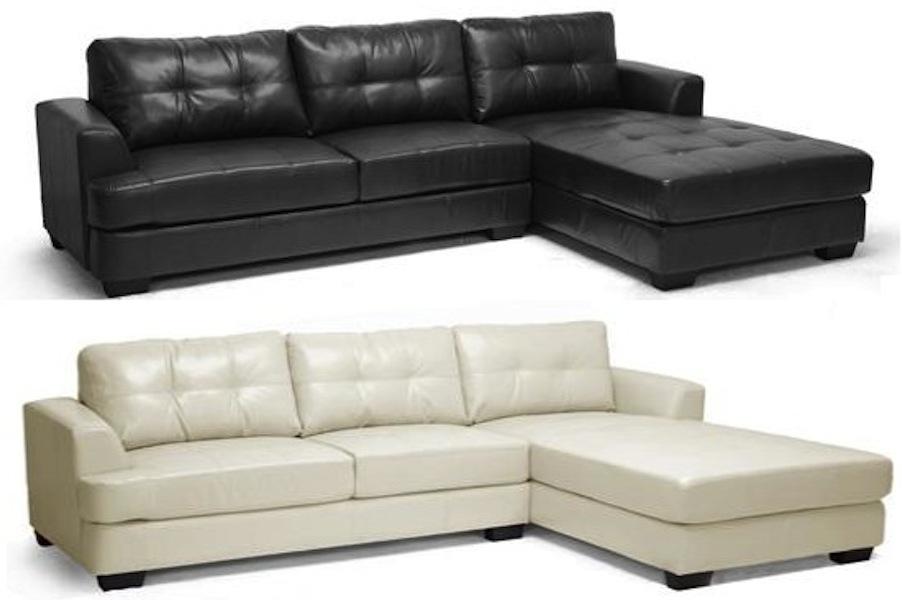 new cream or black modern super soft leather sectional. Black Bedroom Furniture Sets. Home Design Ideas