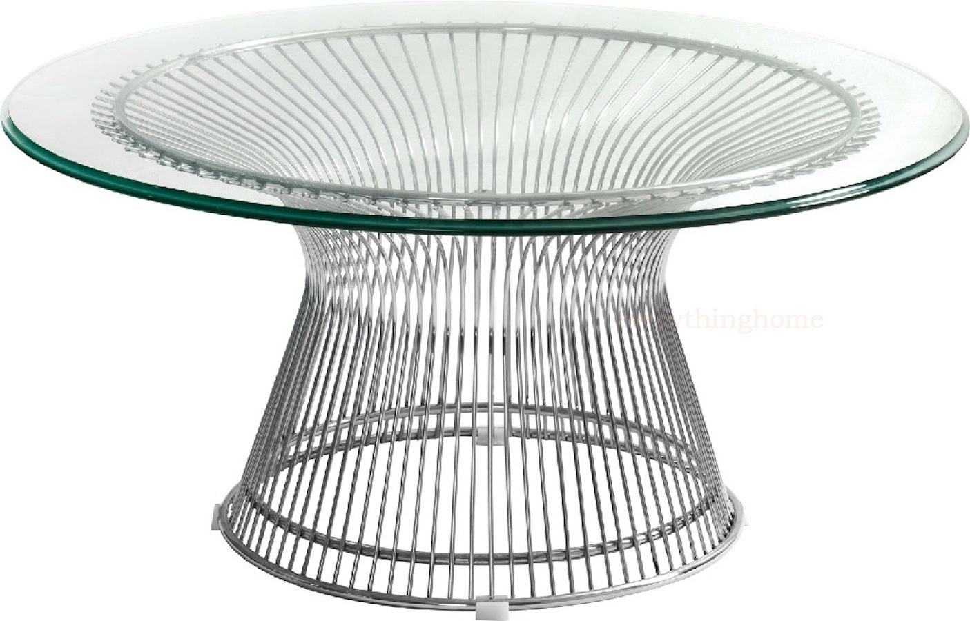 This Extraordinary Platner Style Gl Top Coffee Table Offers That Clic Mid Century Modern Feel S Sure To Impress And Sweep You Away Back In Time